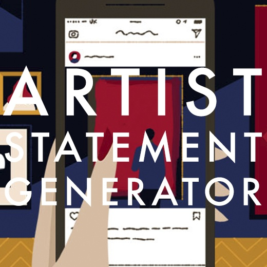 dont find the time to write or rewrite your artist statement heres a free artist statement generator to be used for open call applications exhibitions